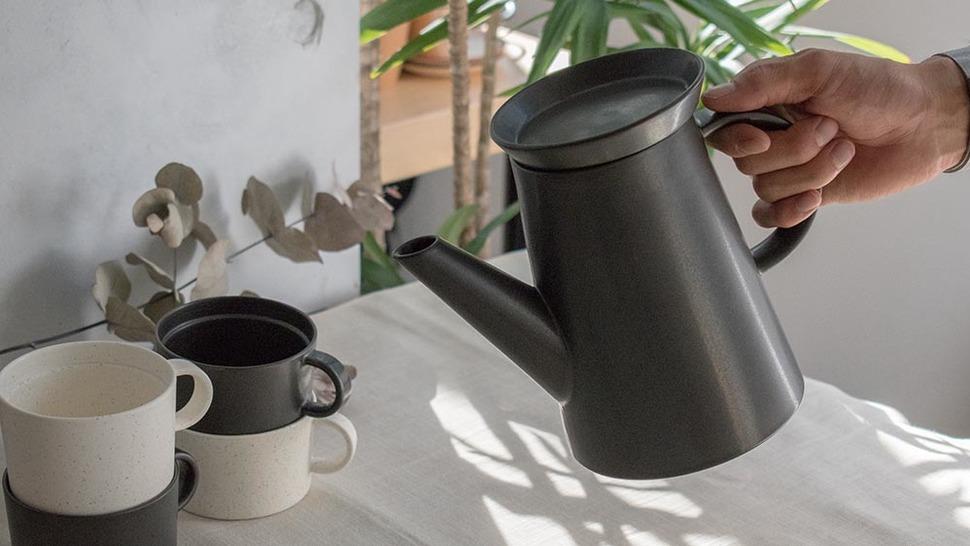 BIG-GAME コーヒーポット Black Matt 使用シーン