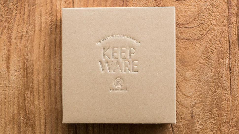 KEEPWARE プレート 16cm パッケージ