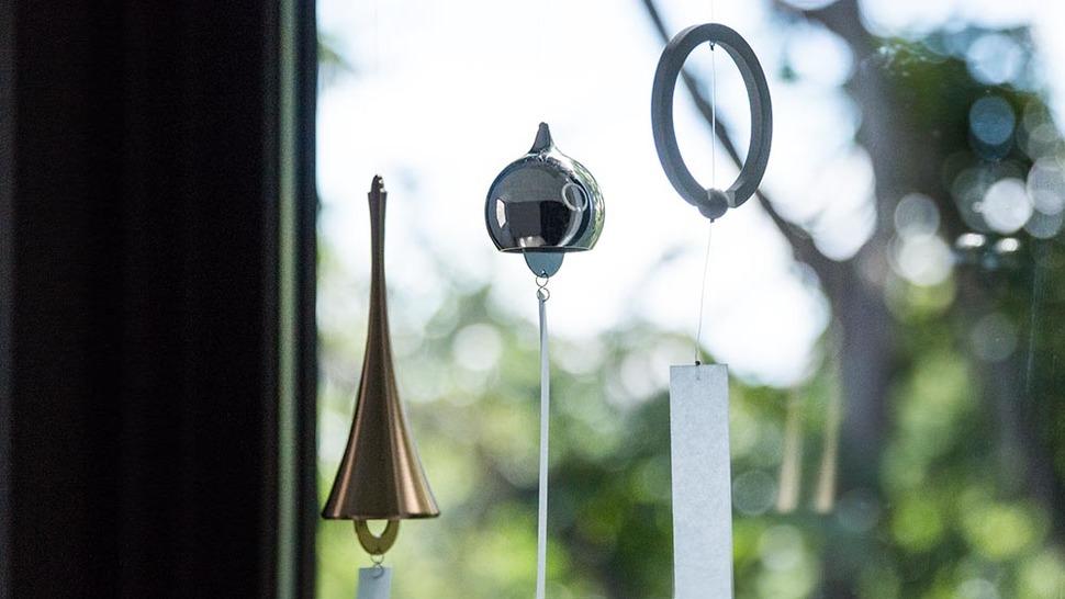 上品な金属の風鈴