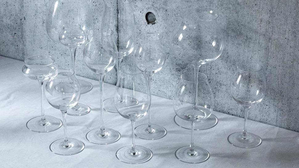 いろいろな形のグラスたち