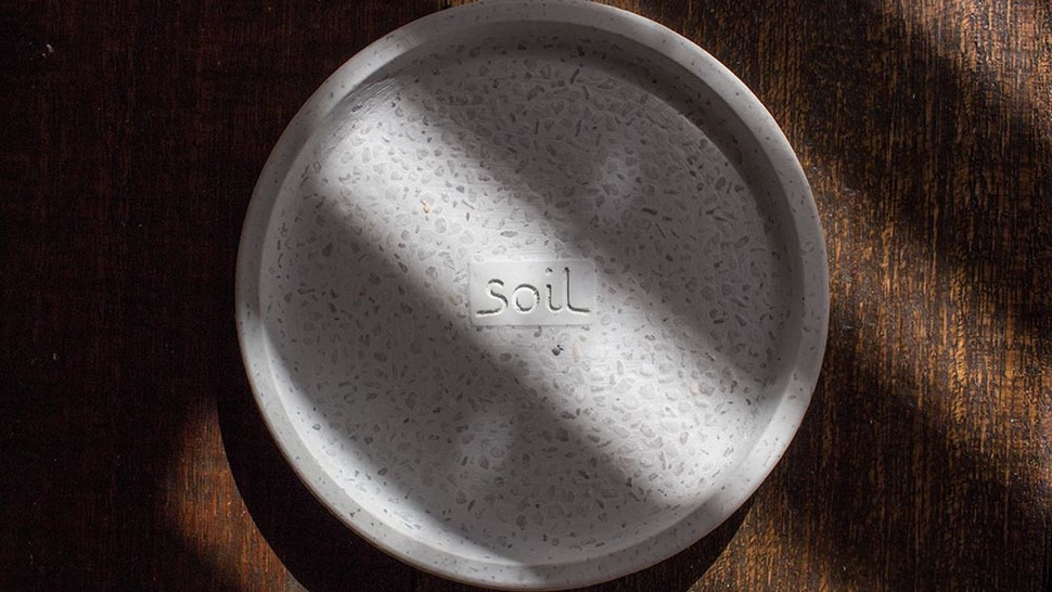 soil SOAP DISH for bath circle 寄り