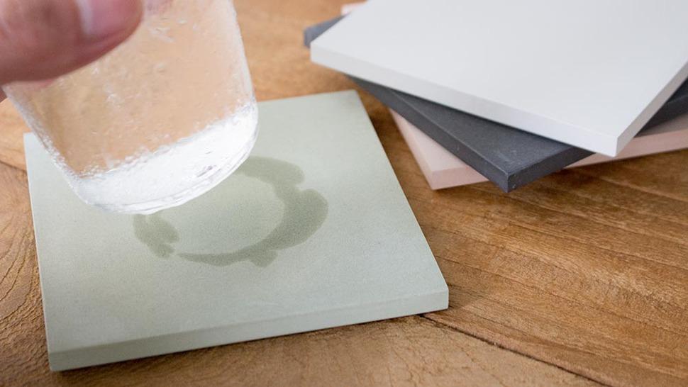 水分をしっかりと吸収するCOASTER large square / assort