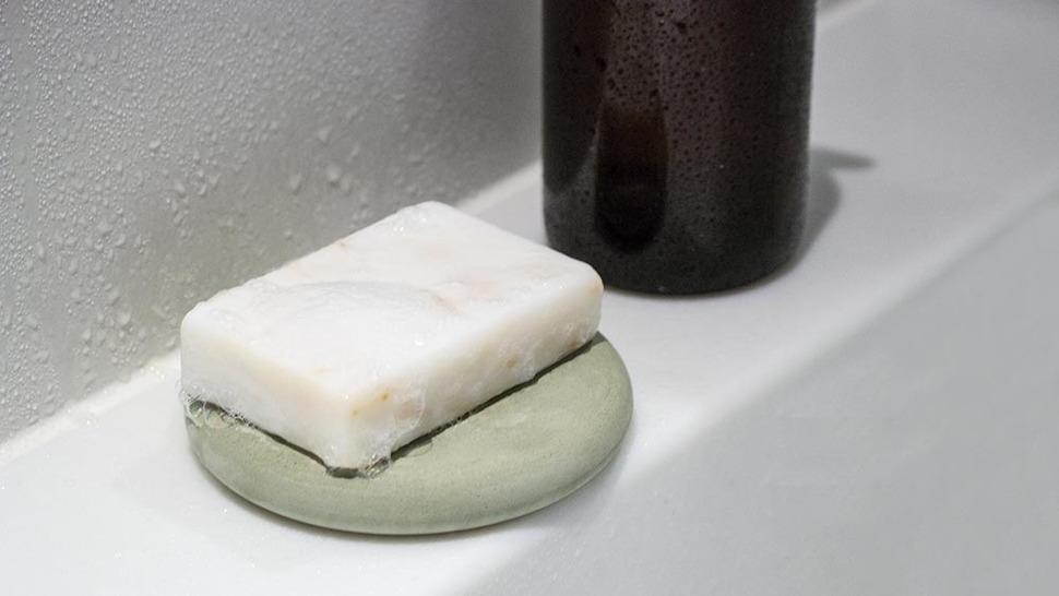 soil SOAP DISH circle 洗面台