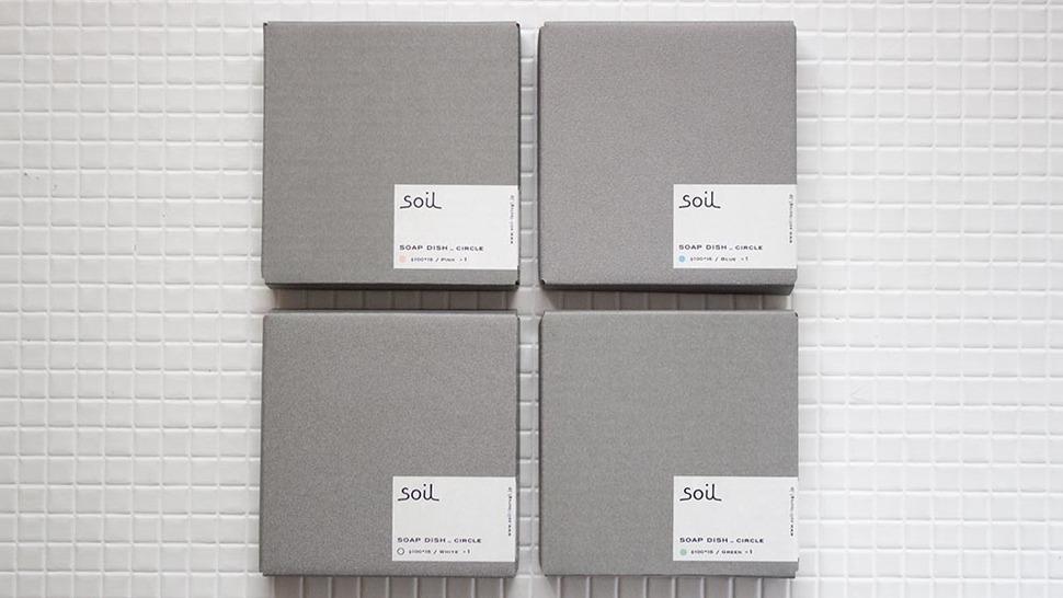 soil SOAP DISH circle カラーバリエーション