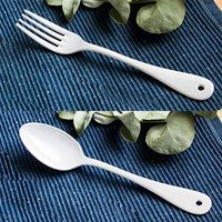 Elfin cutleryset white thumb