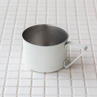 Camping mug white