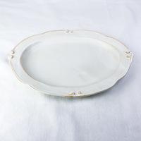 White plate