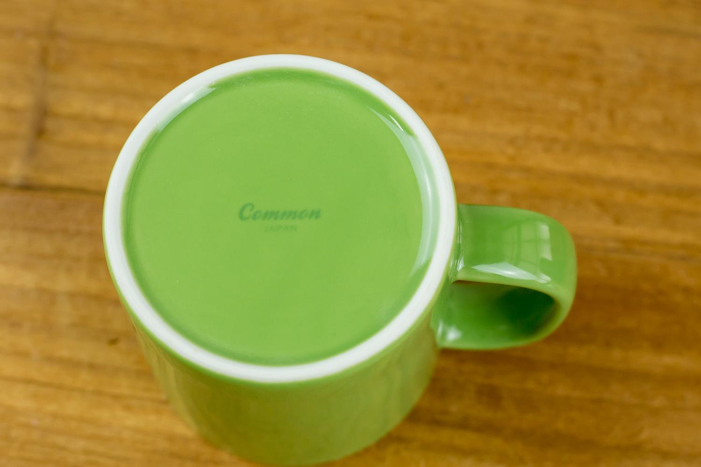 家事の合間にホッと一息。食卓を彩るかわいい6色展開のCommonマグ