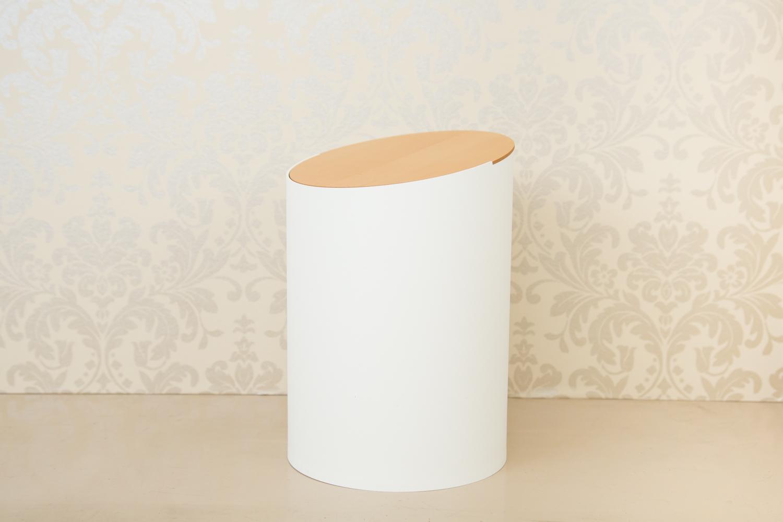 シンプルかつ美しい、おしゃれで便利なゴミ箱 SWING BIN S