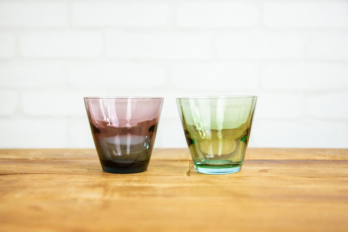 色鮮やかでおしゃれなグラスを晩酌に スガハラ ビコ ロック