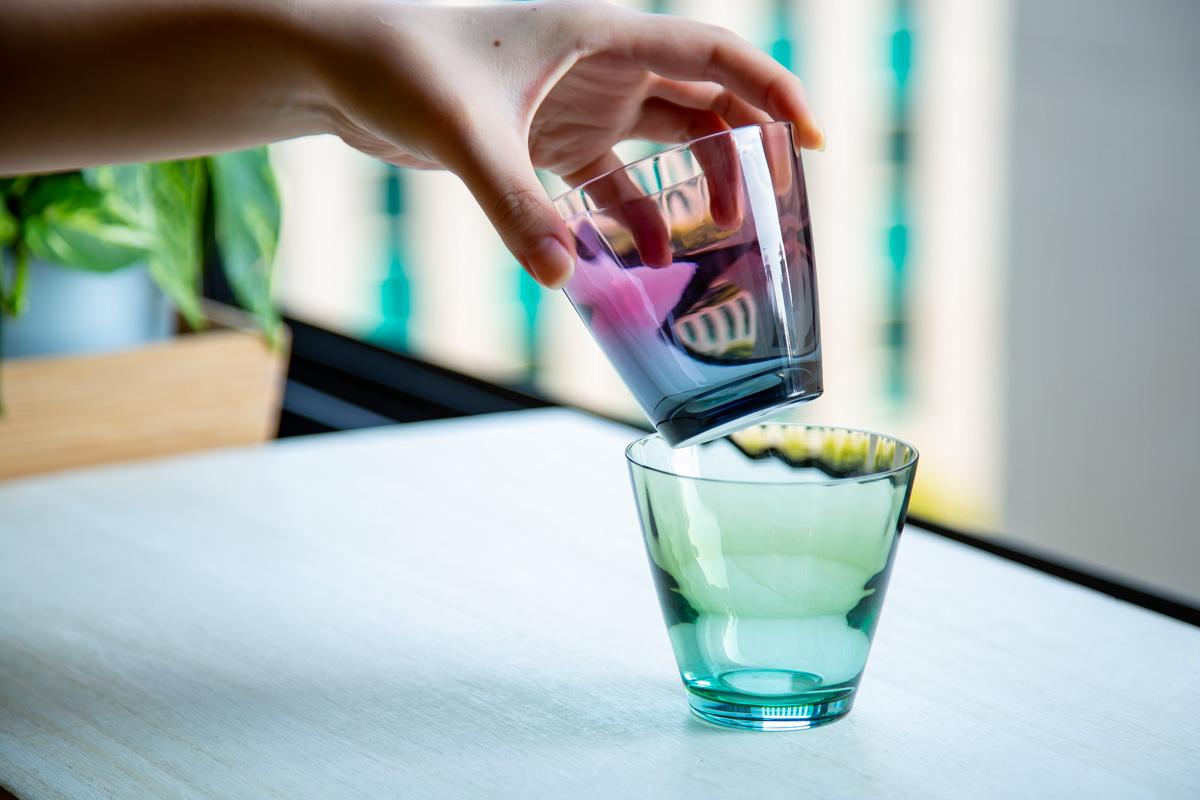 晩酌を彩るうつくしいグラス ビコ ロック