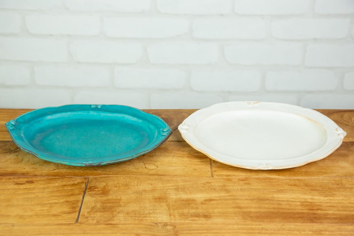 和洋選ばず映える!おしゃれな益子焼の食器 洋皿オーバル大