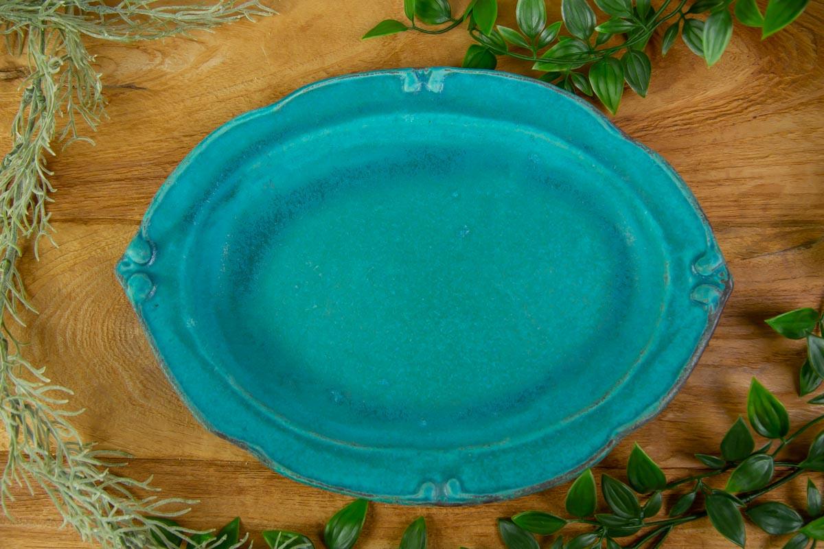 電子レンジ、食洗機対応の洋皿オーバル 大