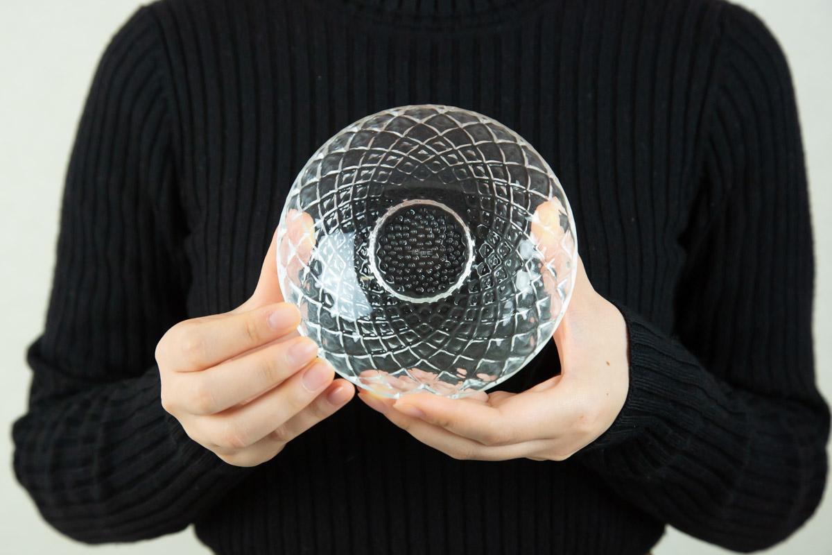 たくさんのガラス製品を作ったからこそ生み出せるガラス食器の数々