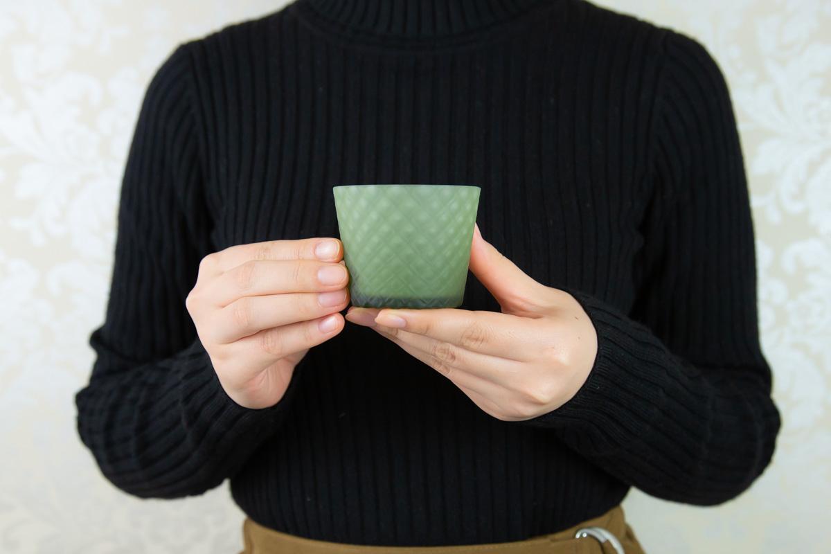 かわいくお酒を飲みたい女性におすすめ 手触りが癖になるグラス kagayaki 酒グラス