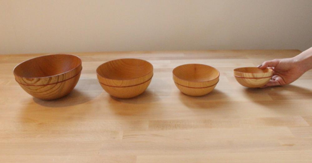 木の食器を使えばお洒落なテーブルコーディネートに