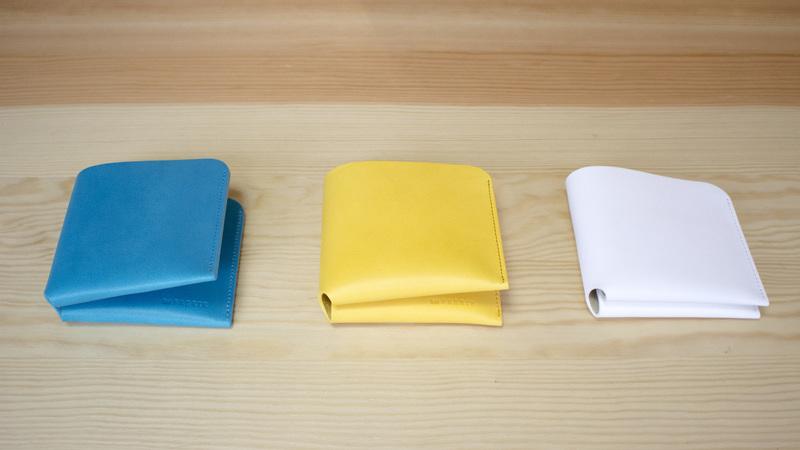 8種類の色と用途に合わせた使い分け