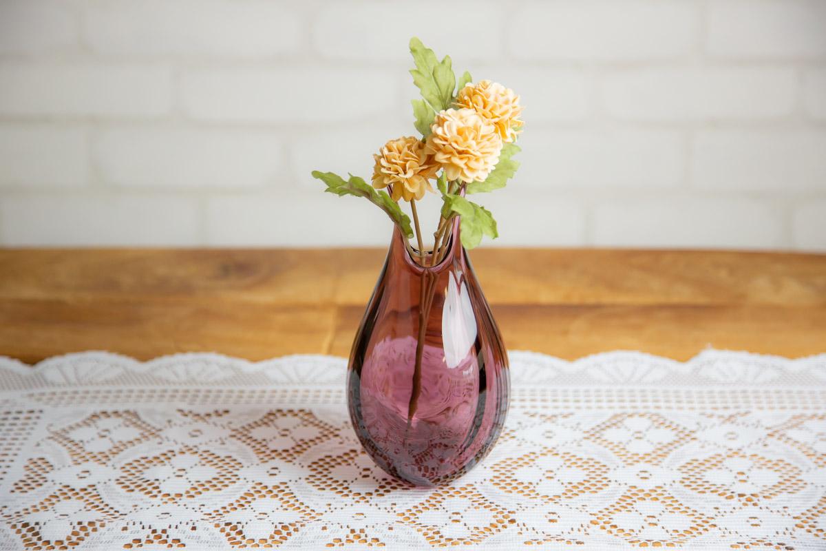 お花をガラスの花瓶で美しく飾ろう はるな ランケ