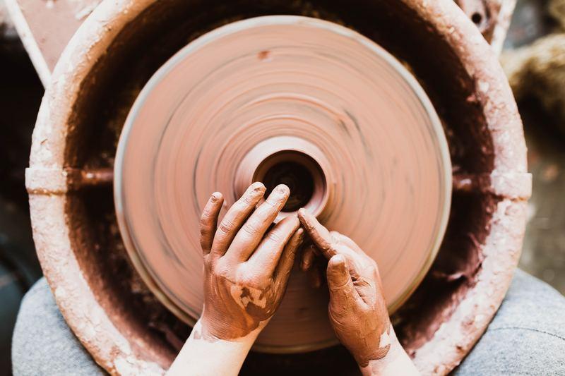 陶器の作成過程
