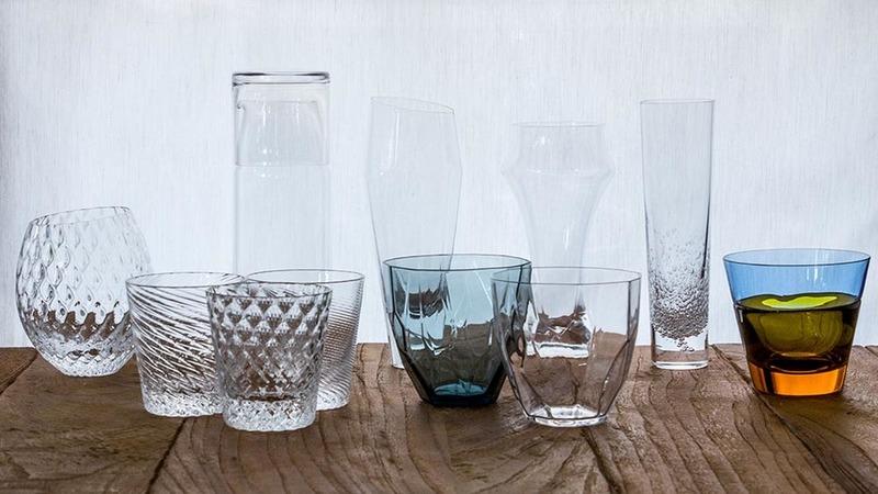 日本酒グラスの写真