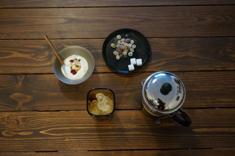 廣田硝子の製品のテーブルコーディネート