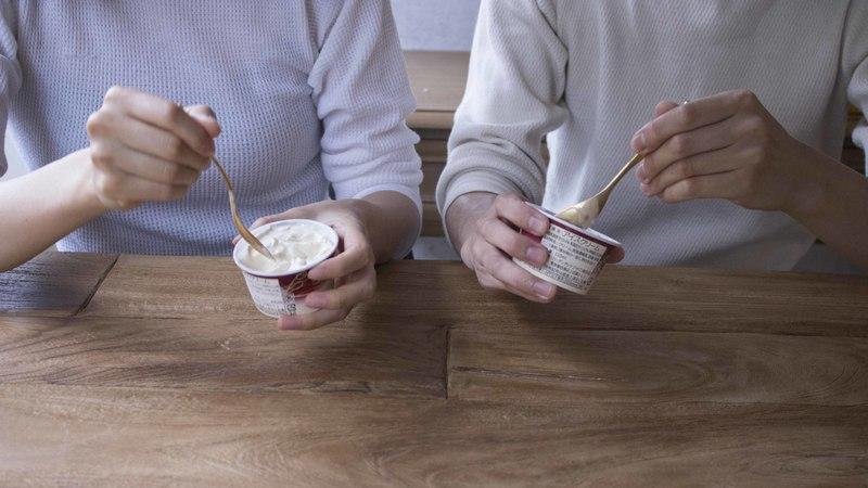 アイスクリームスプーン金銀ペア