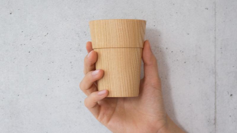 我戸幹男商店TASAIカップ手持ち