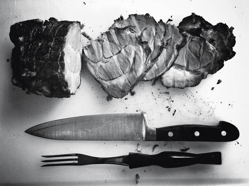 ステーキとナイフ