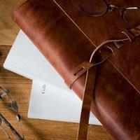 革のシステム手帳
