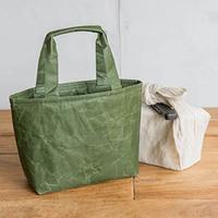 和紙のランチバッグ