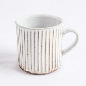 TS White マグカップ