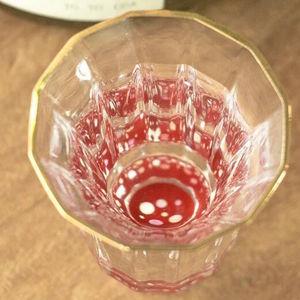 金杯(万華鏡)水玉 / 螺鈿硝子 杯